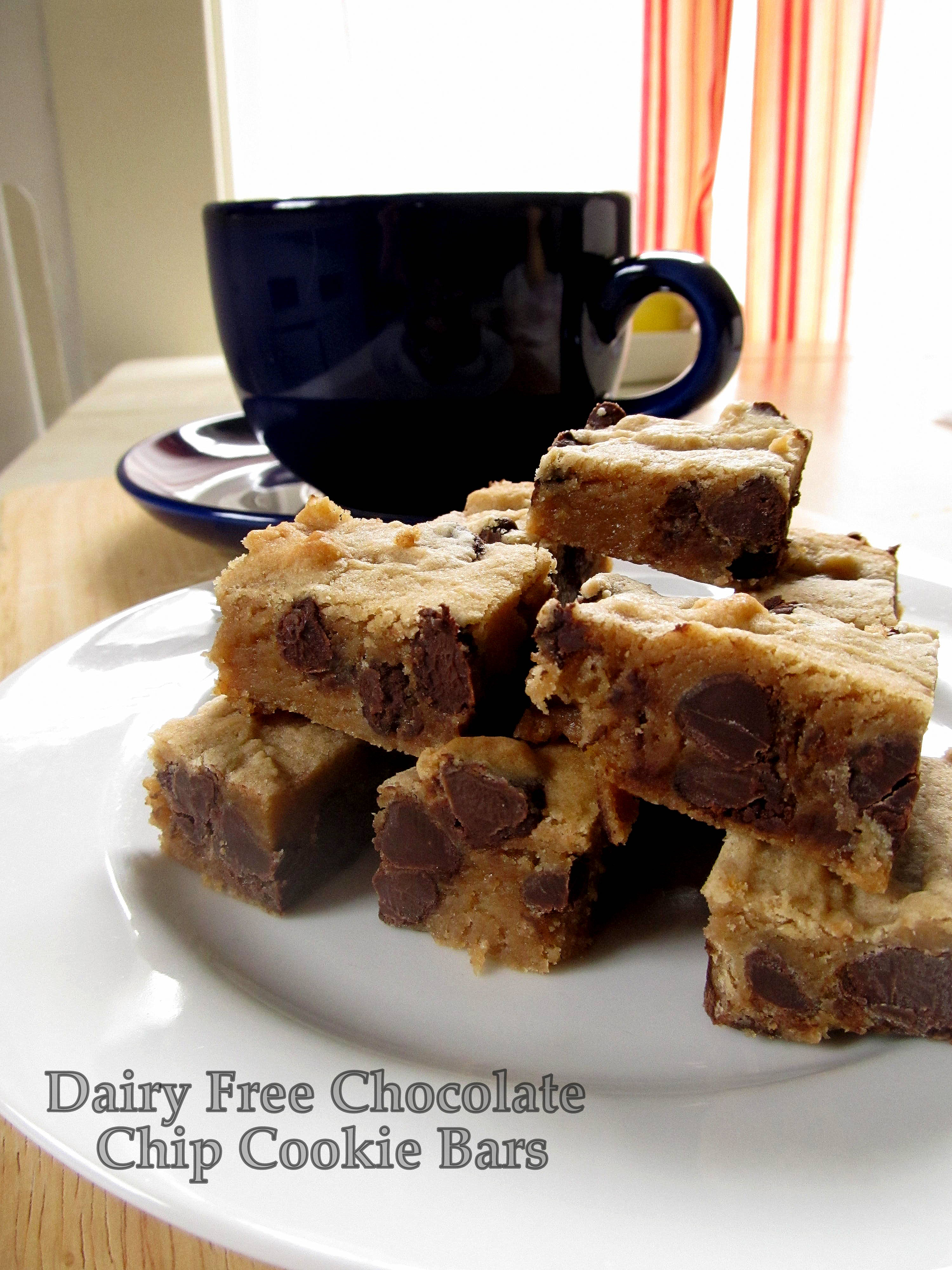 Teacher Cooks Edition! Dairy Free Chocolate Chip Cookie Bars ...