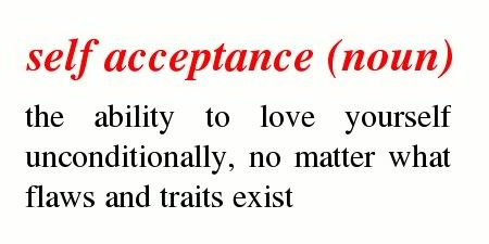 definition of self acceptance