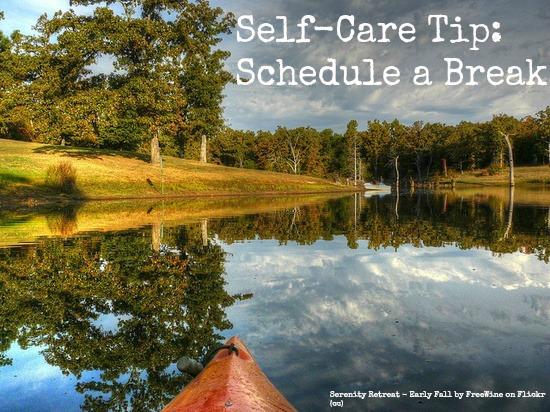 schedule a break
