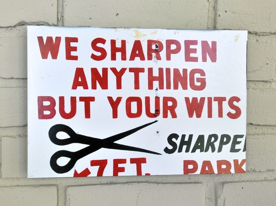 sharpen your wits