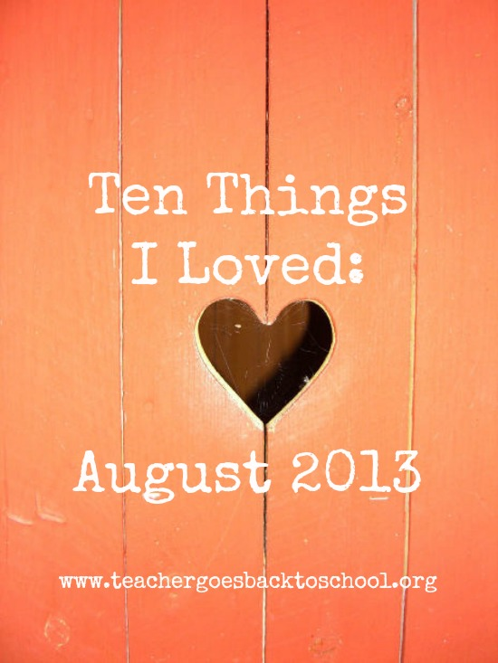 august ten things