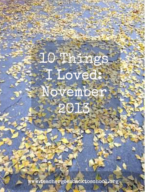 ten things november