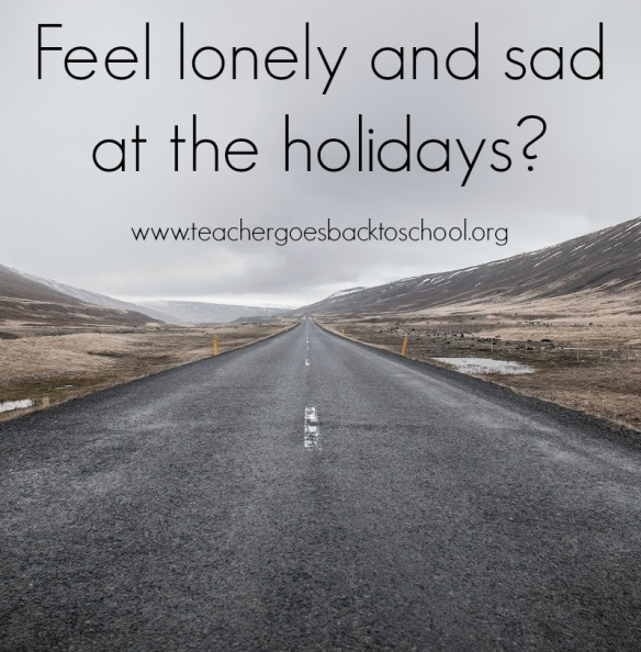 lonely sad holidays