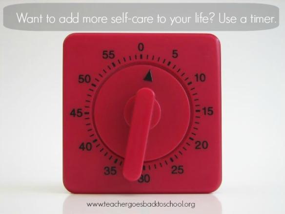 self care timer