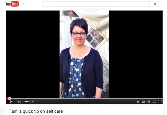 Quick SelfCare Tip from Tami Hackbarth Teacher Goes Back to School/It's All Yoga
